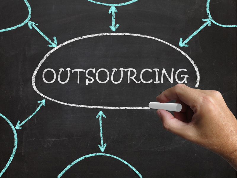 Outsourcing Blackboard Meaning Freelance Workers And Contractors